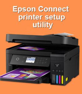 Epson connect printer setup utility