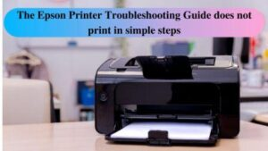 Guide to troubleshoot Epson Printer